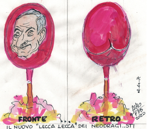Draghi...fronte/retro